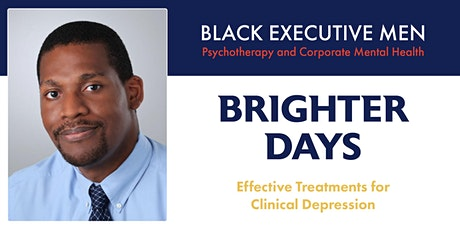 Brighter Days: Effective Treatment for Clinical Depression tickets