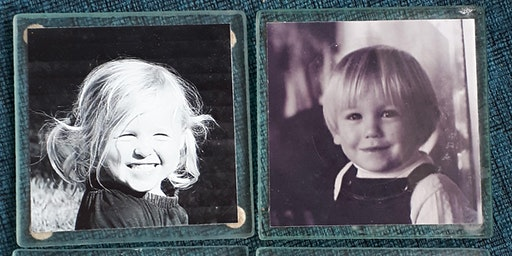 DIY PHOTO COASTERS WORKSHOPS : May 9, 10am, 1:30 pm