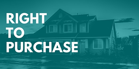 Right to Purchase - Rent to Own [Webinar] tickets