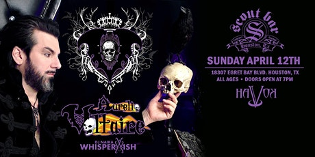 Aurelio Voltaire with DJ Whisperwish and more tickets
