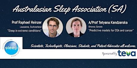 Australasian Sleep Association SA Inaugural Meeting tickets