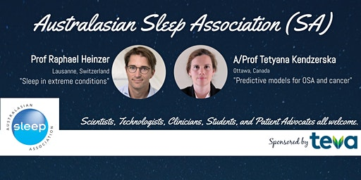Australasian Sleep Association SA Inaugural Meeting
