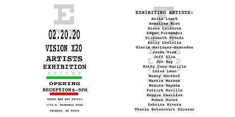 Gallery Debut: Vision x 20 Artist Exhibition tickets