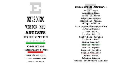 Gallery Debut: Vision x 20 Artist Exhibition