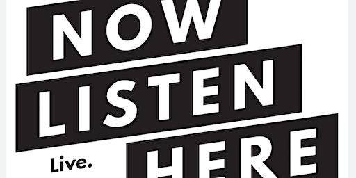 Now Listen Here Storytelling 3-Year Anniversary