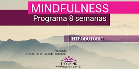 Mindfulness - Programa de 8 Semanas - Turma noite  #os20-03 ingressos