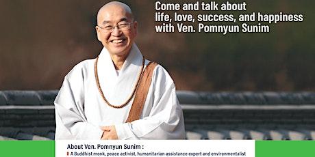 Casual Conversatoin with a Zen Master Ven. Pomnyun Sunim tickets