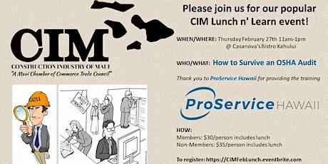 CIM Lunch & Learn, Thursday Feb 27th 11am-1pm tickets