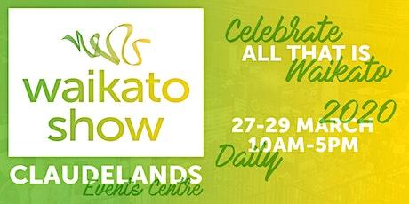 The Waikato Show 2020 tickets