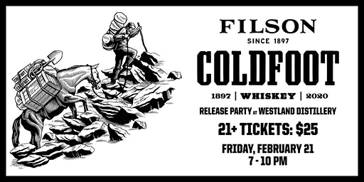 Coldfoot Release Party at Westland Distillery