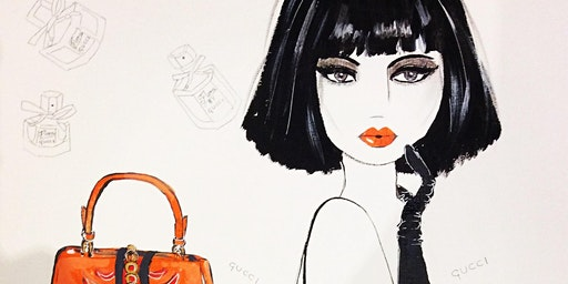 'Making Faces' - Drawing Faces with Fashion Illustrator Julie Buzacott