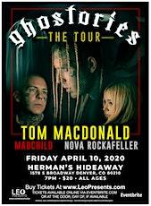 Tom MacDonald - Ghostories Tour tickets