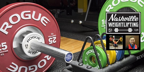 Nashville Weightlifting: Clean and Jerk Workshop - Total Lift Tune-up tickets