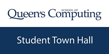 School of Computing Town Hall tickets