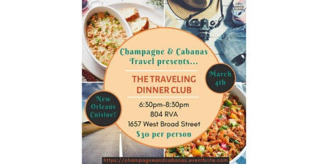 Traveling Dinner Club! tickets