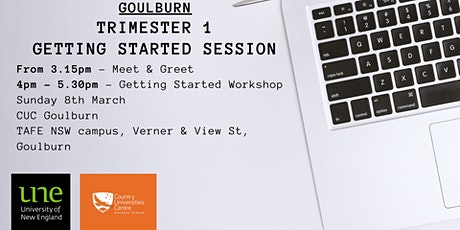 CUC Goulburn - UNE Getting Started Workshop tickets