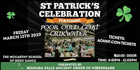 38th Annual AOH St Patricks Celebration tickets