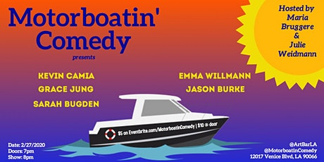 Motorboatin' Comedy tickets