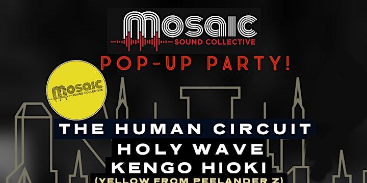 Mosaic Sound Collective Pop-Up