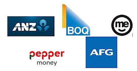 AFG Lender Session - ANZ, BOQ, ME, Pepper tickets
