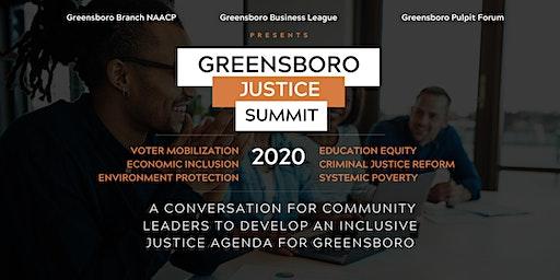 Greensboro Justice Summit 2020