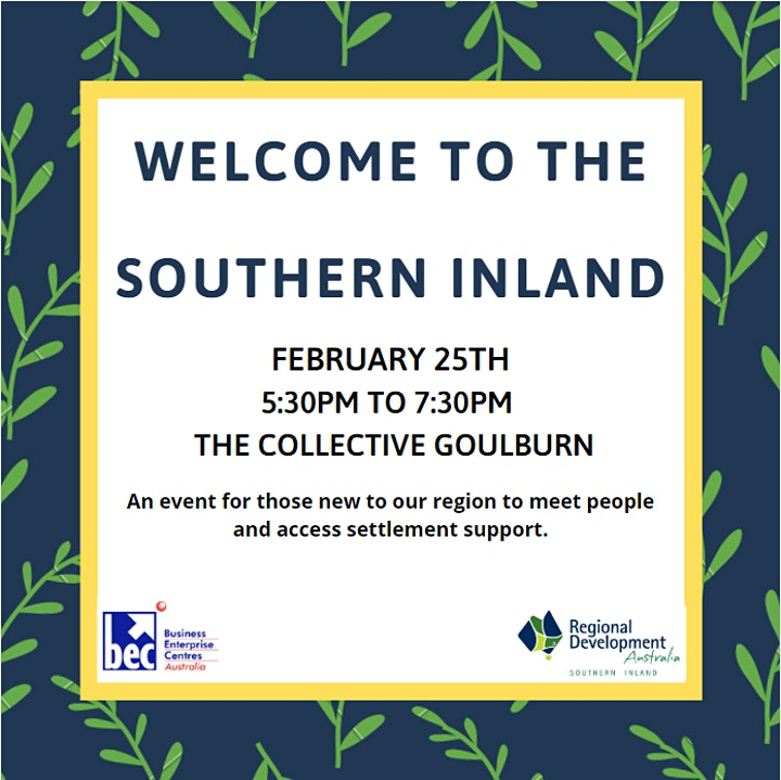 Welcome to the Southern Inland image