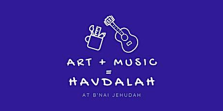Art+Music=Havdalah ALL THREE NIGHTS! tickets