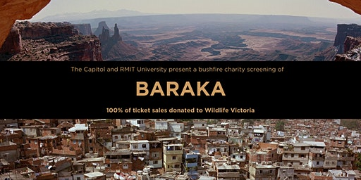 The Capitol Presents a Bushfire Charity Screening of BARAKA