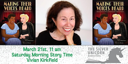 Saturday Morning Storytime: Vivian Kirkfield