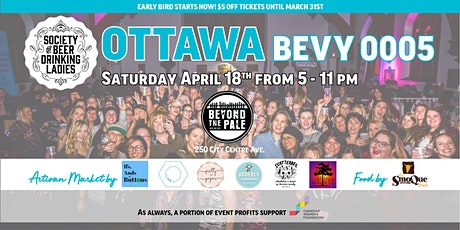 The Society of Beer Drinking Ladies Presents: OTTAWA BEVY0005! billets