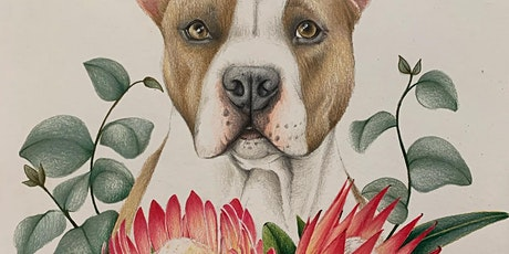 Animal Portraits in Colour Pencil tickets