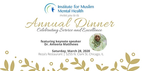 IMMH Annual Dinner tickets