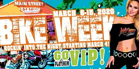 Bike Week 2020 at Main Street Station tickets