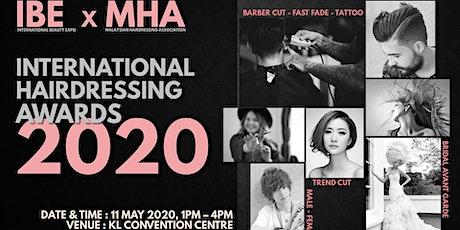 IBE International Hairdressing Awards 国际美发大赛2020 tickets