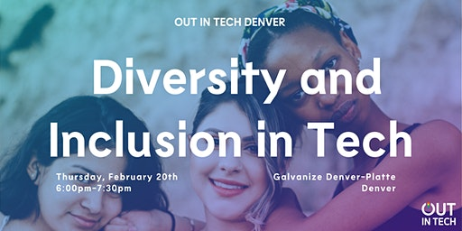 Out in Tech Denver | Diversity and Inclusion in Tech