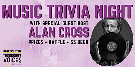 Music Trivia Night with Special Guest Host Alan Cross tickets