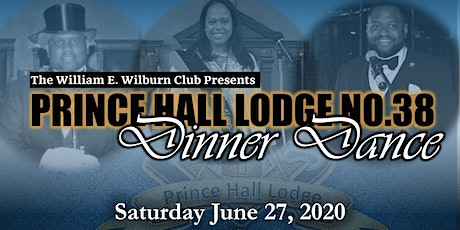 Prince Hall No.38 139th Anniversary Dinner Dance tickets
