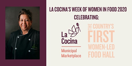 3/8 La Cocina Women in Food Wrap Up Party celebrating International Women's Day ft. Chef Guadalupe of Mi Morena + Chef Mayra Velazquez of Xingones at La Guerrera's Kitchen | by La Cocina  tickets