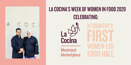 3/7 Week of Women in Food Dinner Series feat. KAYMA + Stag Dining at Cerf Club | by La Cocina  tickets
