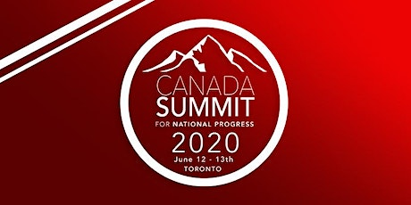 Canada Summit for National Progress 2020 tickets
