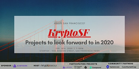 KryptoSF: Projects to look forward to in 2020 tickets