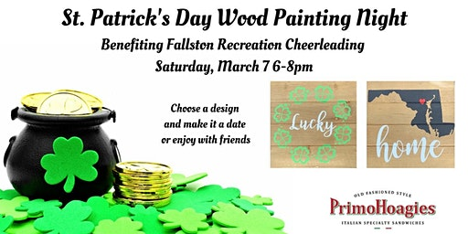 St. Patrick's Day Wood Painting Night