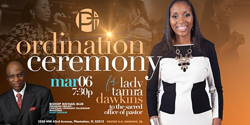 Ordination Ceremony of Lady Tamia