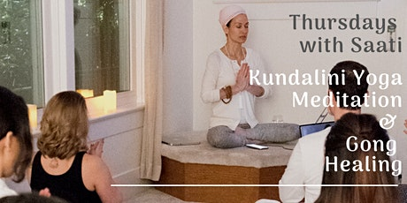 Transformational Meditation with Saati | Kundalini Yoga, Meditation, Healing & Gong tickets