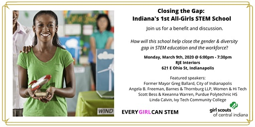 Closing the Gap: Indiana's 1st  All-Girls STEM School