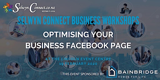 Optimising your Business Facebook Page