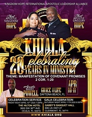 20th Year Pastoral Celebration Gala tickets