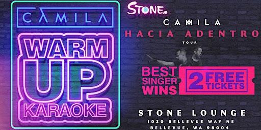 Camila: Warm-up Event