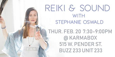 Reiki & Sound with Stephanie Oswald tickets