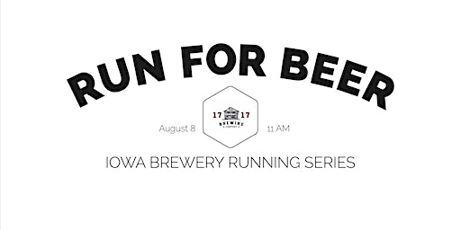 Beer Run-1717 Brewing | Part of the 2020 Iowa Brewery Running Series